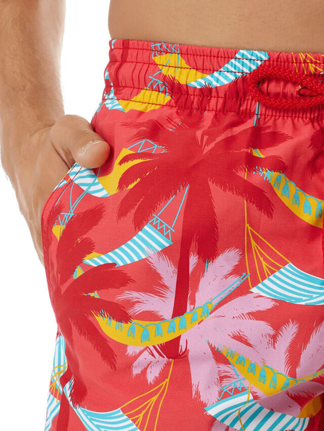 Moorea Hammock Print Swim Shorts