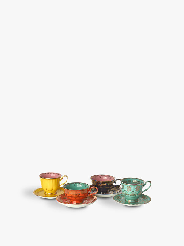 Grandpa Tea Set of 4
