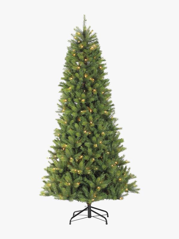 Prelit Slim Kensington Fir Christmas Tree
