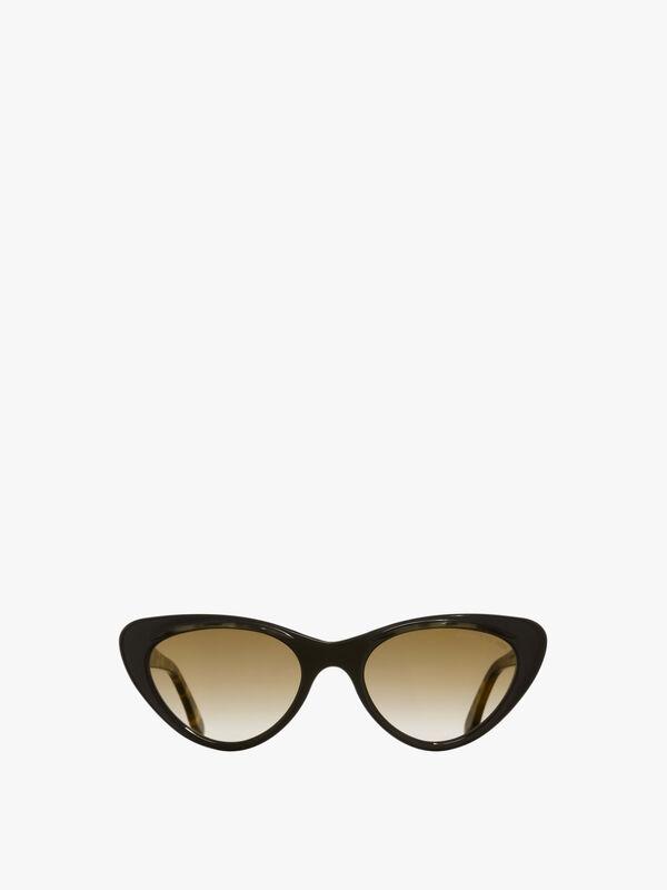 Cat Eye with Brow Hood Sunglasses