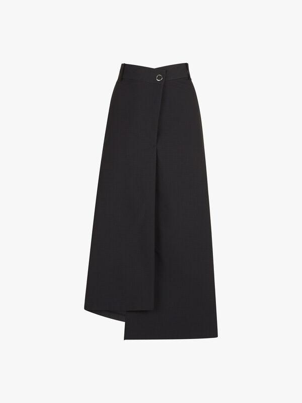 Asymmetry Hem Skirt