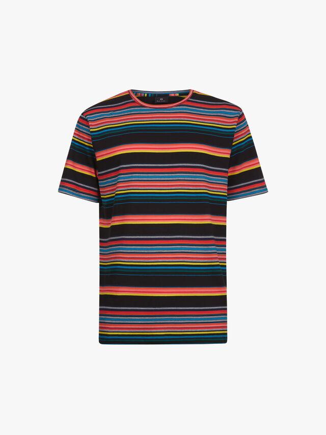 Multi-Colour Stripe T-Shirt