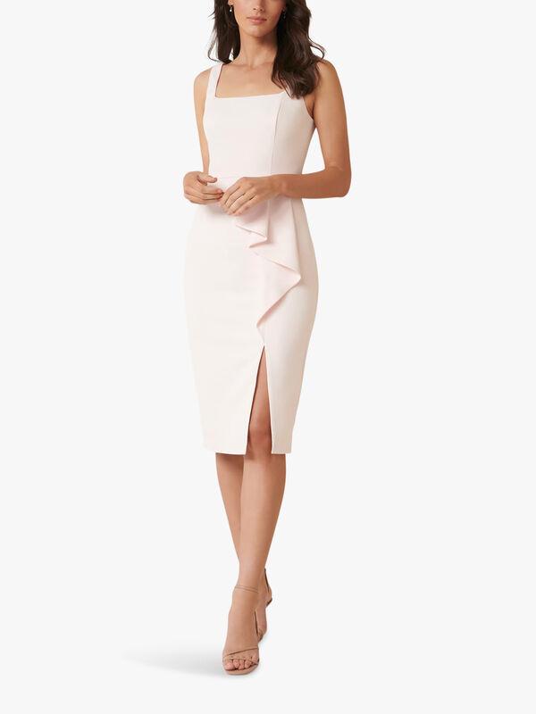 Emily Square Neck Midi Dress