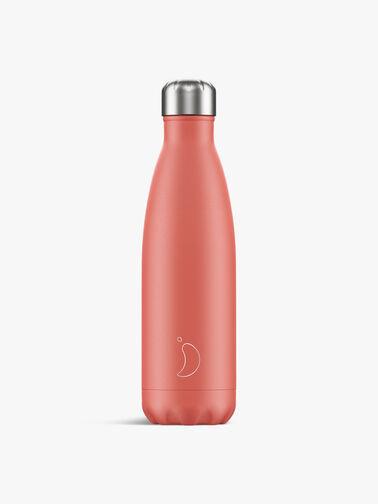 Pastel Coral Water Bottle 500ml