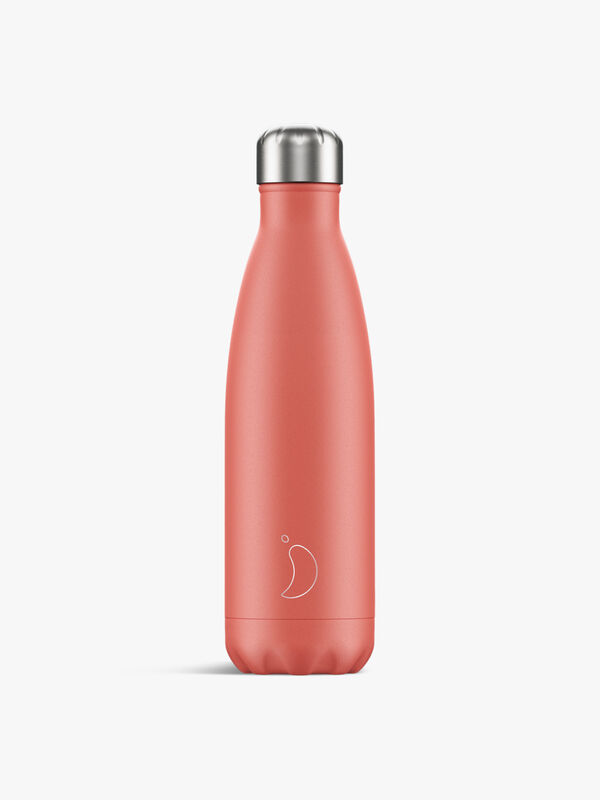 Pastel Coral Water Bottle