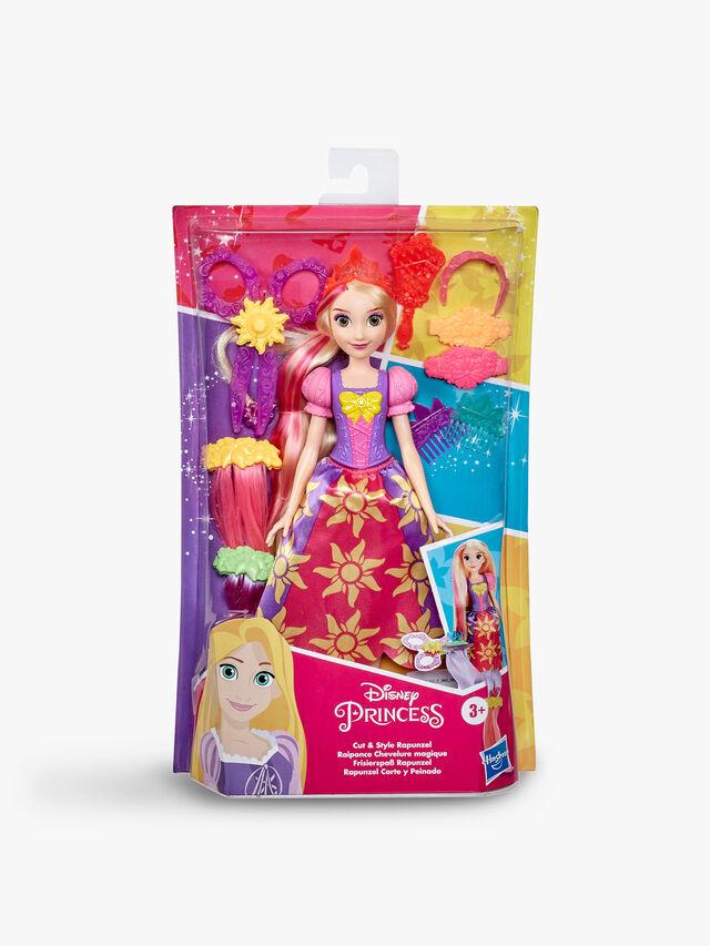 Cut And Style Rapunzel Hair Fashion Doll