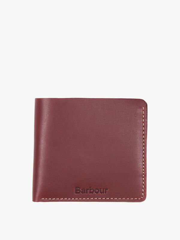 Hadleigh Leather Billfold Wallet