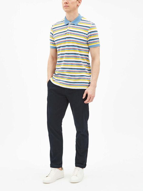 Jarrett Stripe Polo Shirt