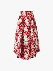 Promessa-Printed-Pleated-Skirt-0000406806