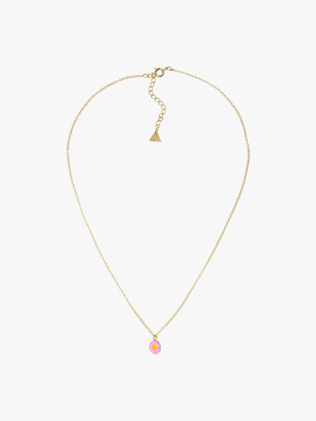 Tiny Charms on Skinny Chain