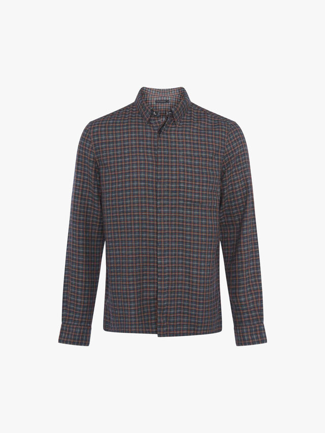 Bingo Check Long Sleeve Shirt
