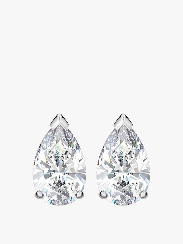 Attract Pear Stud Pierced Earrings