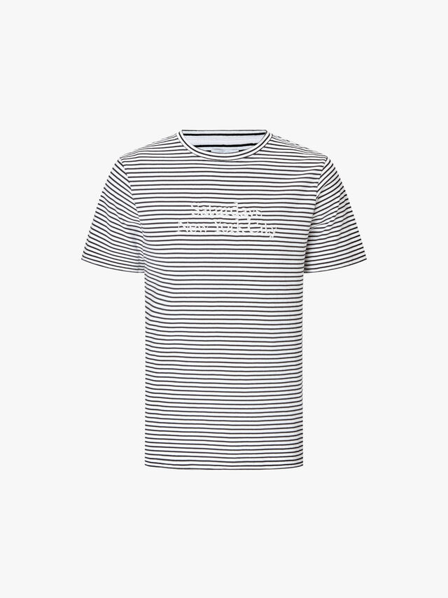 Brandon Miller Standard Brand Stripe T-Shirt