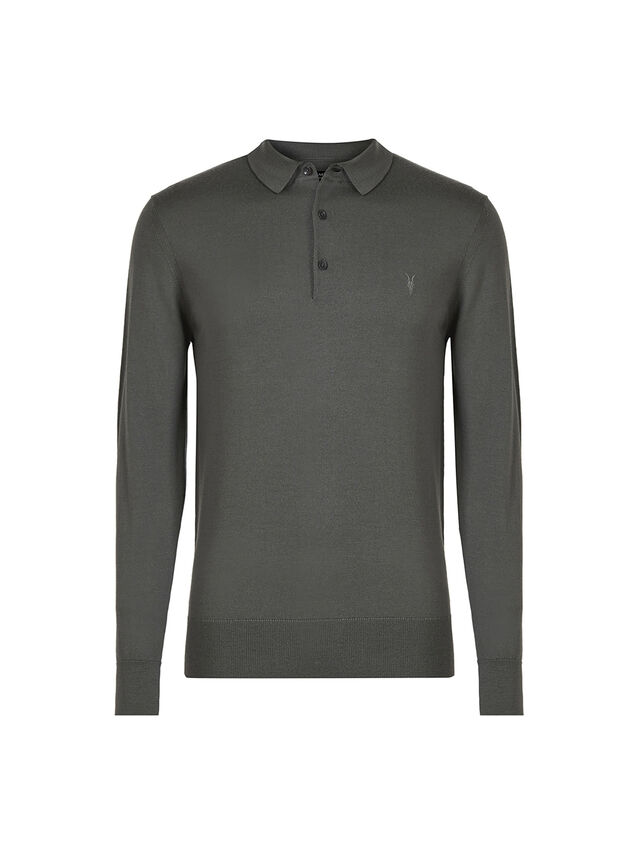 Mode Merino Longsleeve Polo