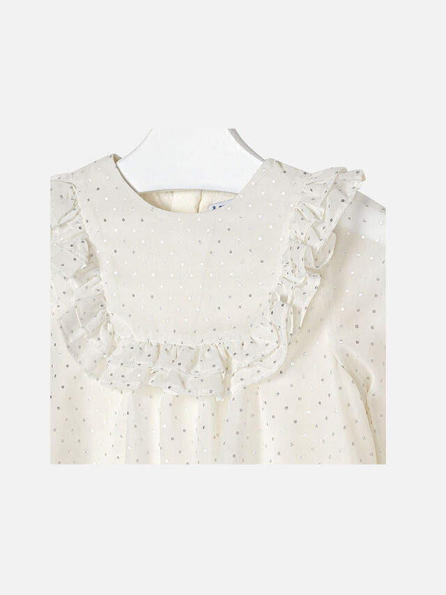 Studded Frill Blouse