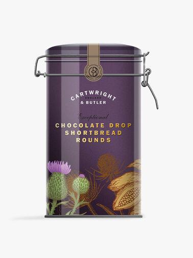 Chocolate Drop Round Shortbread