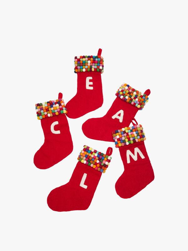 Gumball Alphabet Stocking - Y