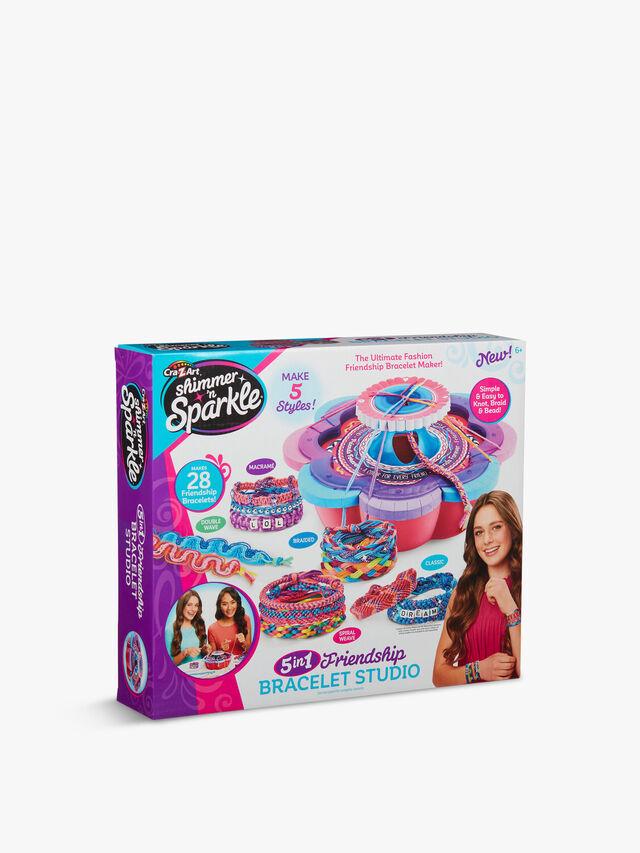 Shimmer 'N' Sparkle 5 in 1 Friendship Bracelet Studio