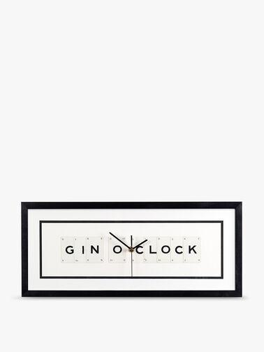 Gin Oclock Clock
