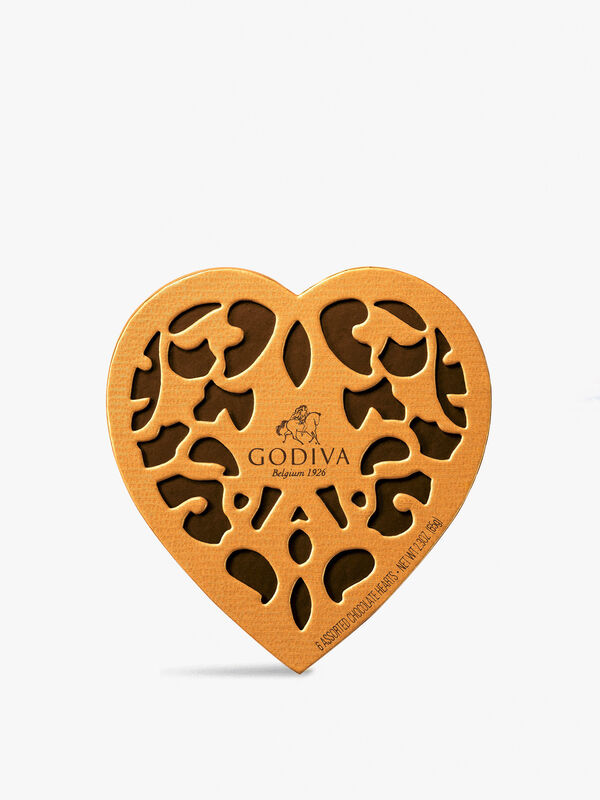 Coeur Iconique Chocolate Box 6 Pieces 65g