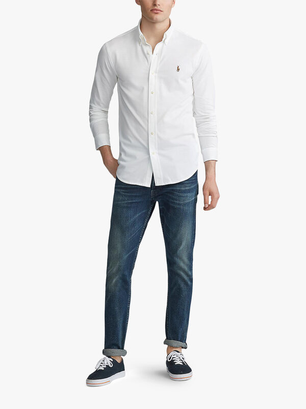 Slim Fit Pique Shirt