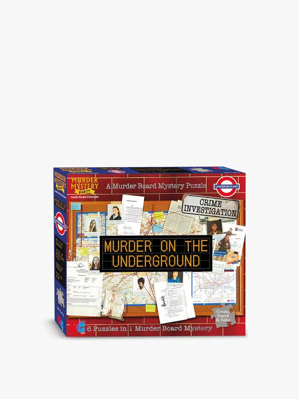 Murder Mystery Case File Puzzle  Murder On The Underground