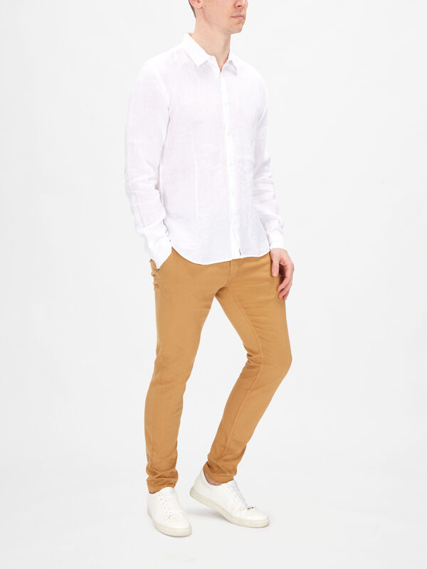 Morton Tailored Linen Shirt