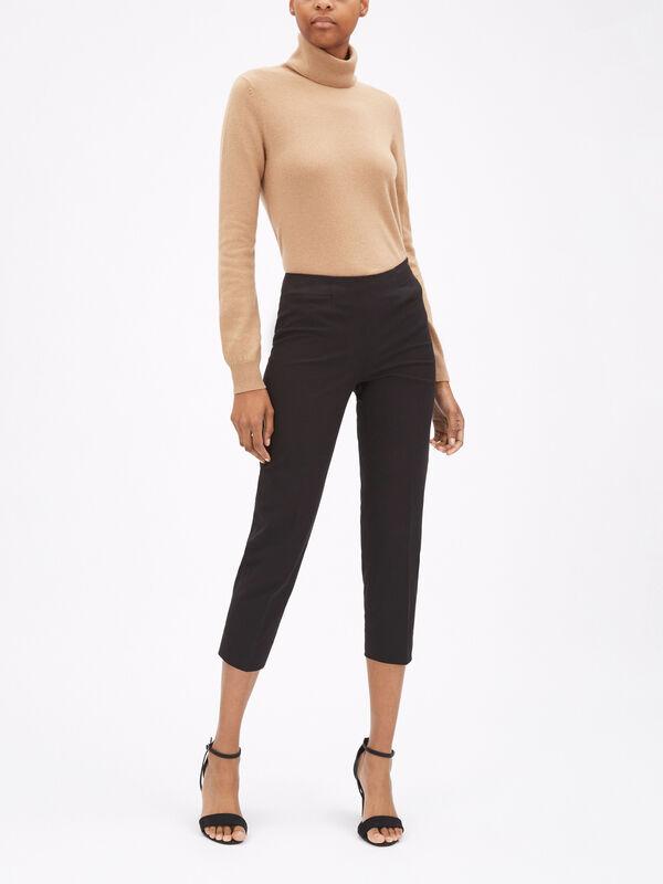 Audrey Stretch Cotton Trouser