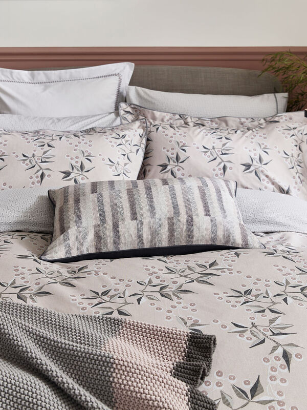 Kiko Embellished Square Pillowcase