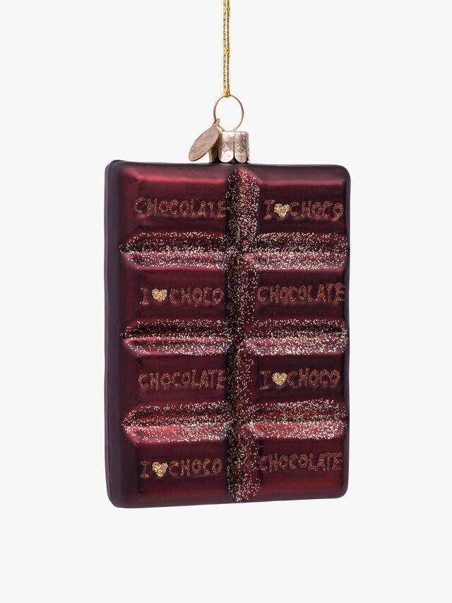 Chocolate Bar Hanging Decoration