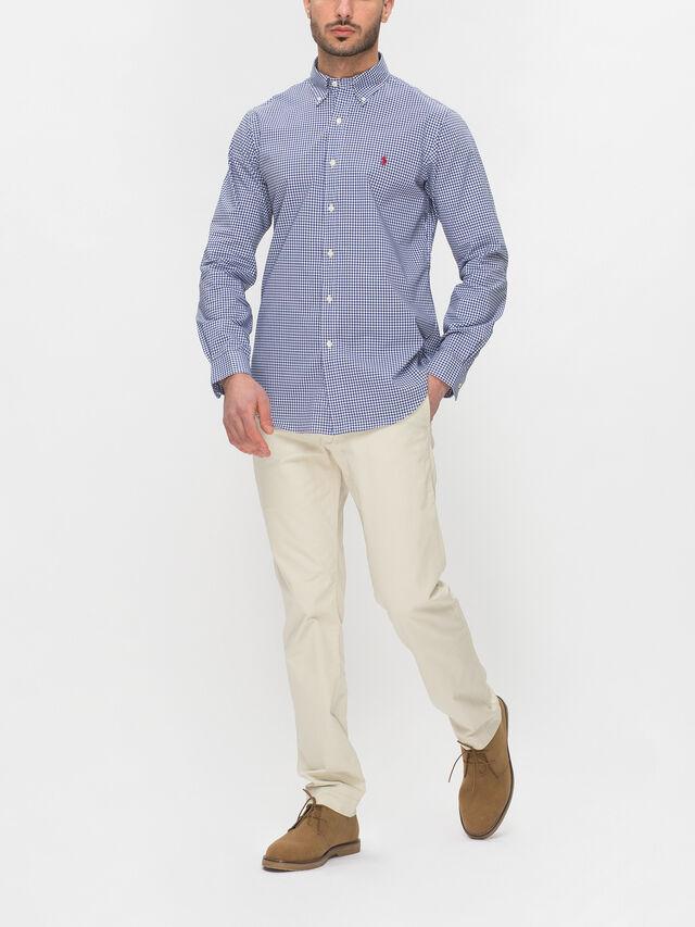 Gingham Slim Fit Shirt