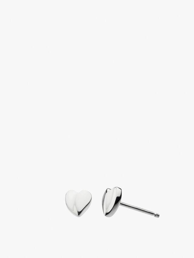 Miniature Sweet Heart Studs