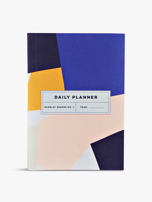 Daily Planner Overlay Shapes Notebook