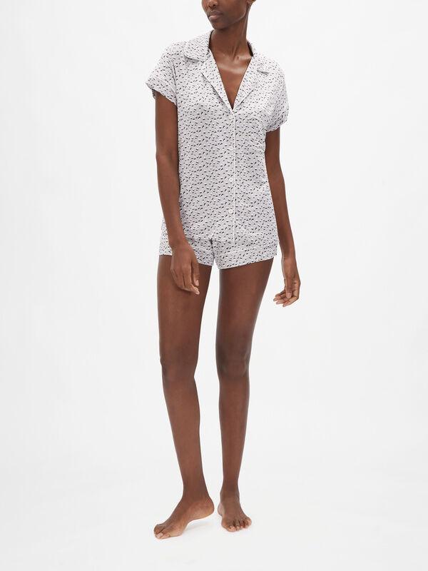 Gisele Printed The Short Pyjama Set