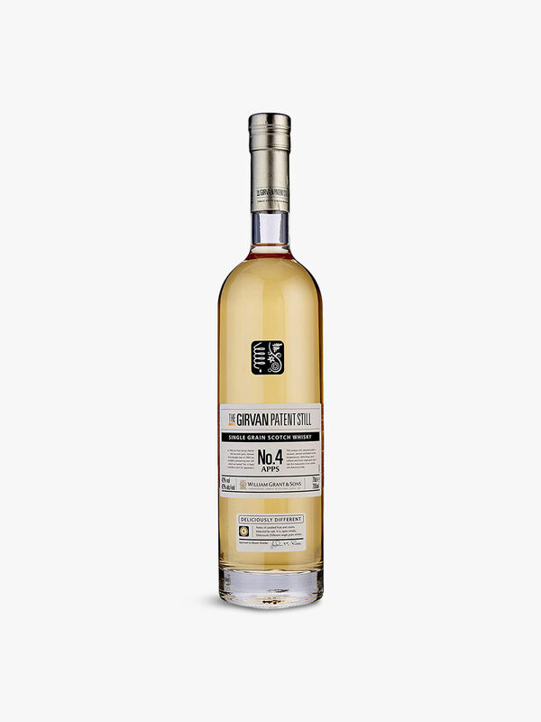 The Girvan Patent Still Single Grain Scotch Whisky No.4 70cl