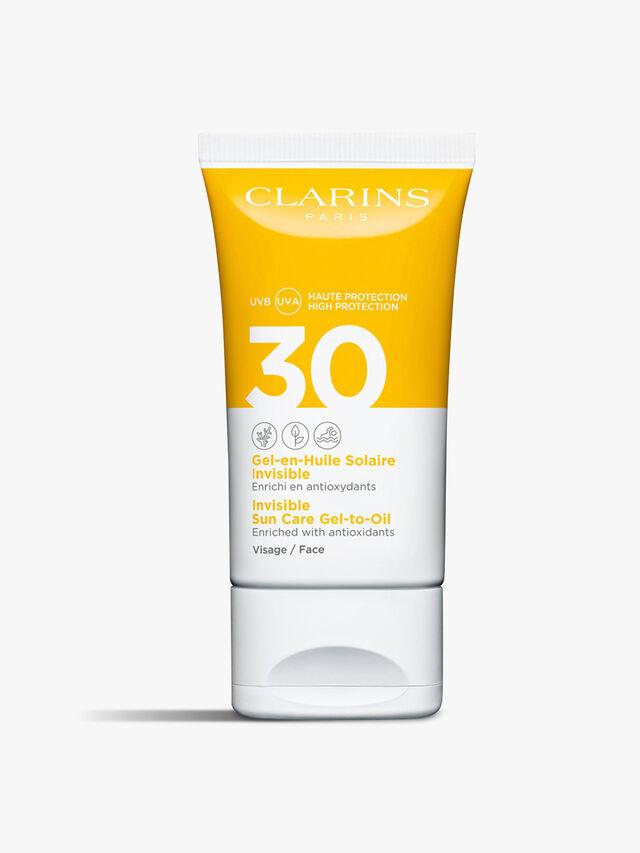 Invisible Gel-in-Oil Facial Sun Care UVB/UVA 30