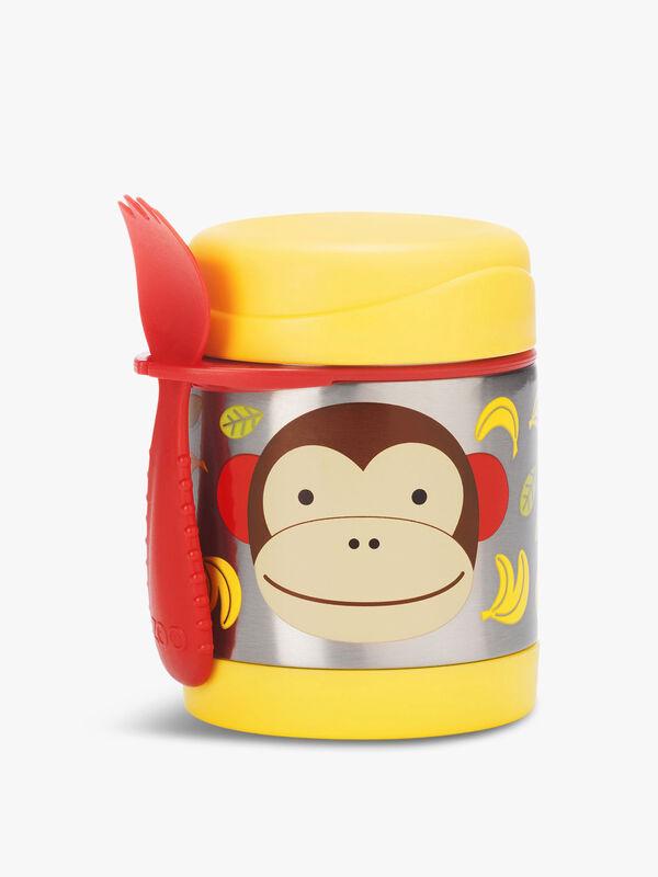 Zoo Insulated Food Jar Monkey