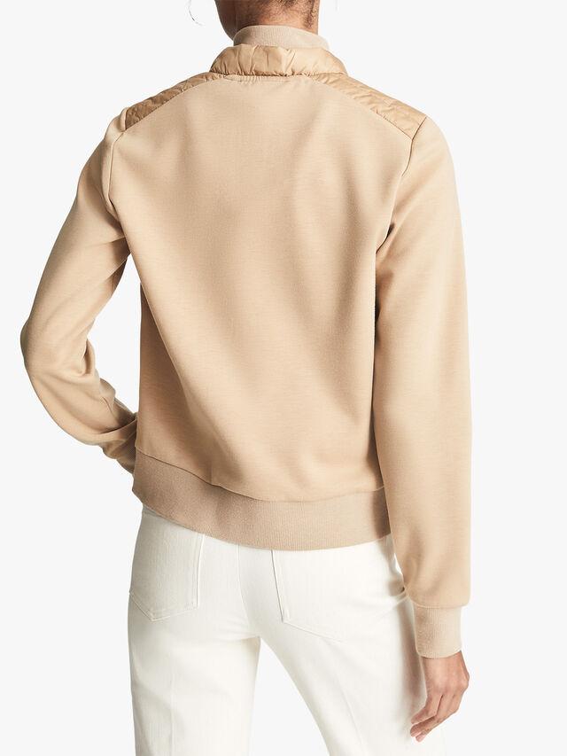 Jada Jersey Hybrid Jacket