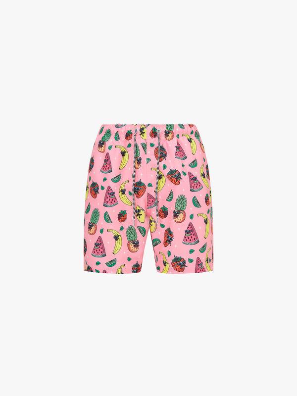 Fruity Mid Length Swim Shorts