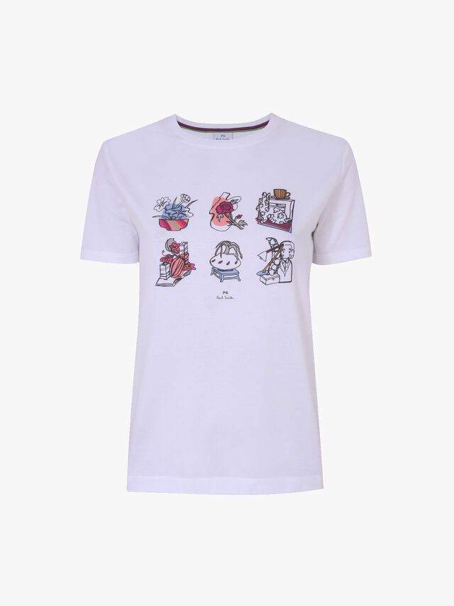 Fenwick Exclusive Printed T Shirt