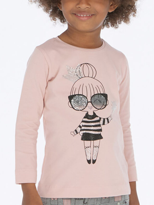 Long Sleeved T-Shirt With Print