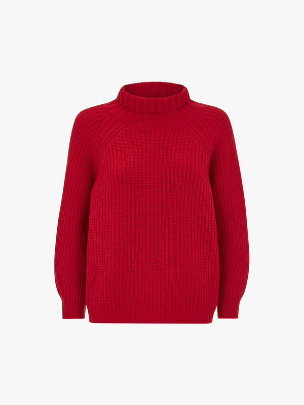Laguna Textured Roll Neck Knit