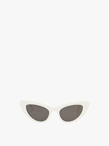 Womens Acetate Lily Skinny Cat-Eye