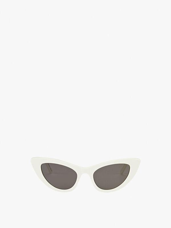 Lily Skinny Cat-Eye Sunglasses