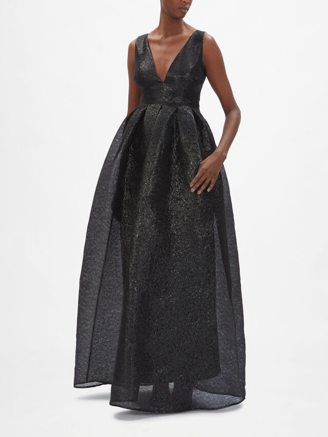 Tormalina Sleeveless Gown