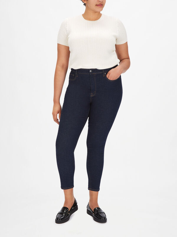 High Rise 5 Pocket Jeans