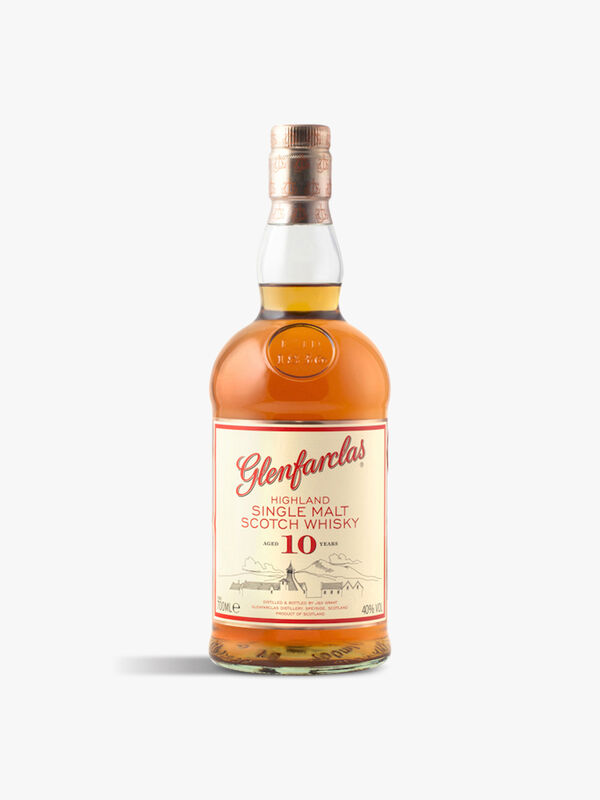 Glenfarclas 10yr Single Malt Whisky 70cl