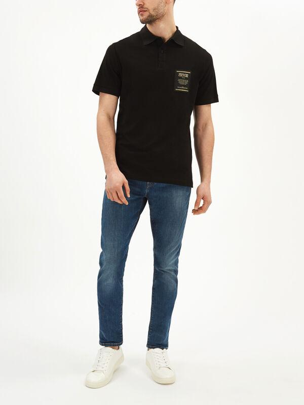 Slim Box Logo Polo Shirt