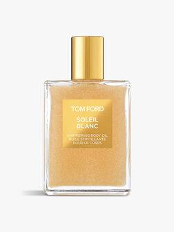 Soleil Blanc Shimmer Body Oil, Rose Gold 100 ml