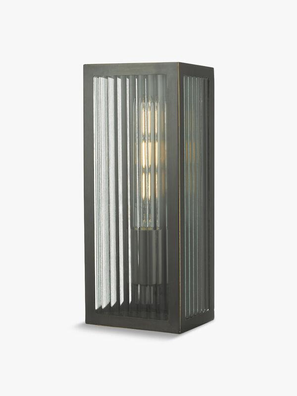 Keegan Rubbed Bronze Outdoor Wall Light